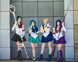 The Outer Senshi by LadyStaba