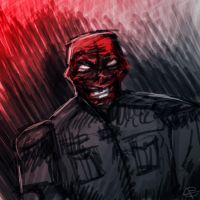 Red Skull by GuilleAC