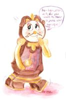 Because you're Cogsworth it! by SnappySnape