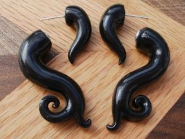 Gothic Earring FAKE PLUG by cashewed-almonds