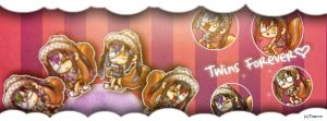 TWINS FOREVER TIMELINE COVER~ by XxNaruxX123