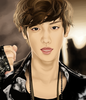 Chanyeol by Esca-chan