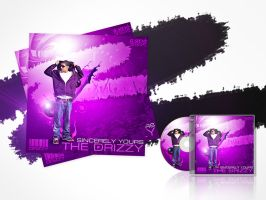 Drake Album Cover Free PSD by Gallistero