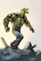 Savage Dragon by logicfun
