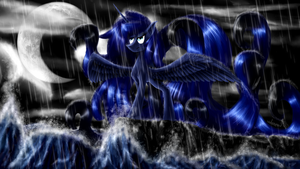 Luna, protector of the realm by CrestfallenCelestia