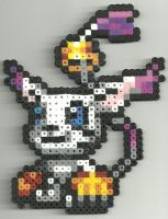 Gatomon by Ravenfox-Beadsprites