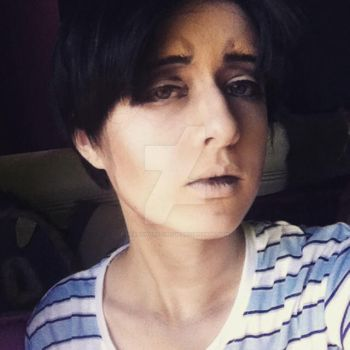 Levi Makeup Test Redo by Heartwork-Circus