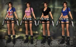 Lara Croft TRL - Legend PACK by Larreks