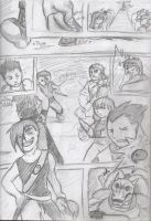 Comic page Path of 3 ch8 by RenagadeRexRider