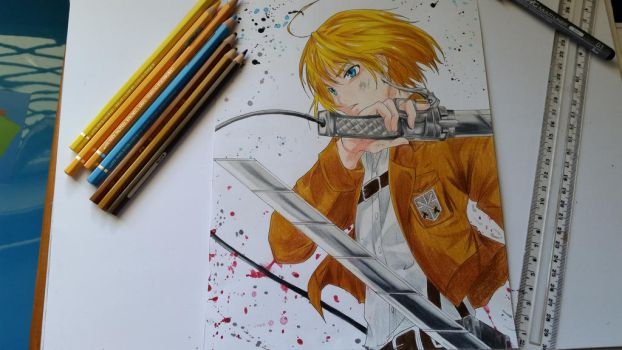 Armin Arlert Request! by TheSassyFox