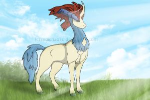 Keldeo .:Shine of the day:. by moichao10