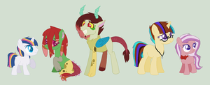 More MLP NextGen Foals by Everythingf4ngirl