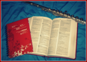 Bible Journal Flute by Menchieee