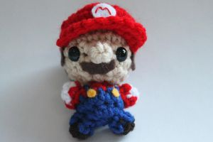 Mini Mario by craftycalamari