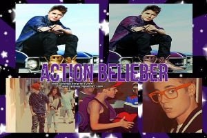 Action Belieber by RainbowPS