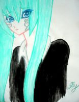 Miku-Rolling girl by reika-the-best