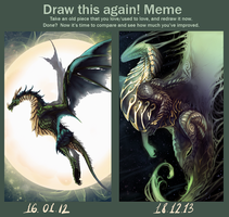 Draw this again meme by Arkras