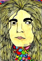 Robert Plant by AnalieKate