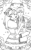 Commisson : The wedding by PukingrainbowsArts