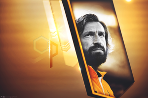 Andrea Pirlo   Golden by ndogn97