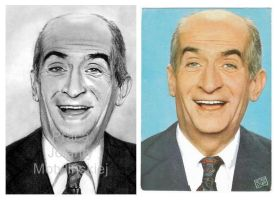 Louis de Funes by jolabrodnica