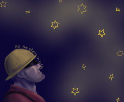 All the stars in Texas by feliceMemoria