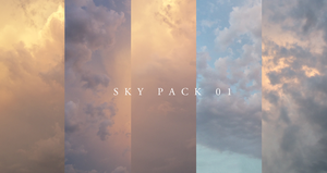 Sky Pack 01 by Colorkiller-Stock