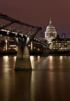 The Millenium bridge by ccdavies1