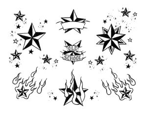 Free Star Tattoo Flash