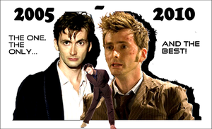 Doctor Tennant 2005 - 2010 by realtimelord