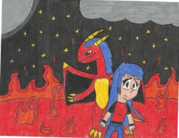 My Inner Self: Dragon of Fire by ShadowFire90