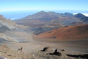 Haleakala crater. by YourUndyingLove