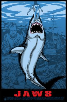 Jaws - Blue Regular - Three Barrels Ltd. by scumbugg