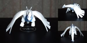 Mini Lugia Papercraft by dustofstarz