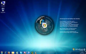 Windows 8 - Jan 2010 Concept by xazac87