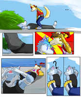 Travelers tail Page 3 by Vent-Kazemaru