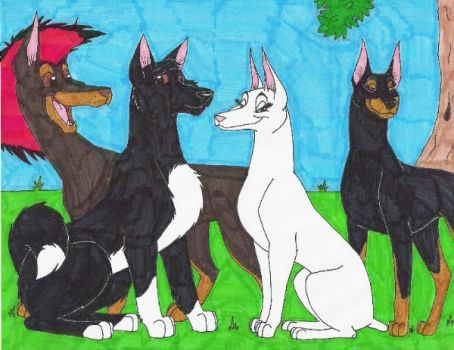 Missi and the Gang 2006 by darkfaelin