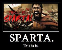 This Is Sparta by Karate-Foxes