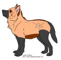 Wolf Pup For beagle78 by Dapplefire