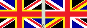 Alt. flag of UK by RomaniaTricolor