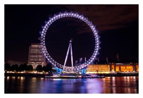 London Eye by TheRaider