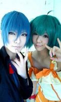 Alto and Ranka! by touyahibiki