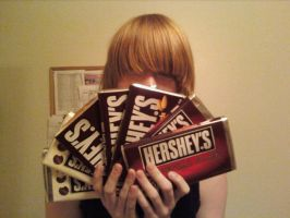 Mello LOVES his Chocolate by erikagrace303