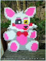 Mangle from FNAF | Bead Sprite | DIY Video by Shendijiro