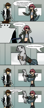 The seal of Orichalcos... by Jackasaurusrex