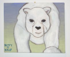 Polar bear dawn 2010 by beatrixxx