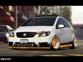 Mercedes B55 HellaFlush by pacee