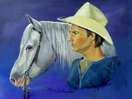 Ed and The Range Rider by annieoakley64