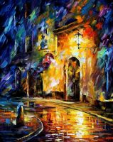 Old Vitebsk by Leonid Afremov by Leonidafremov