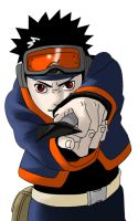 :Obito Lineart colored: by SabakunoPA
